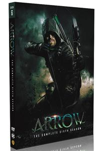 Arrow Seasons 6 DVD Box set